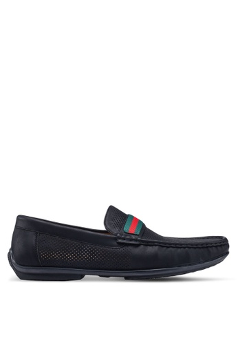 Louis Cuppers black Breath Loafers 7E51CSHC1BCC70GS_1