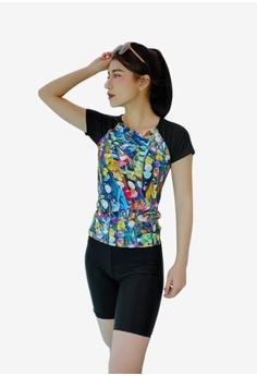5075e4757b Zafiti multi 2-Piece Floral Print Swimwear Swimsuit C29C7US941CE06GS_1