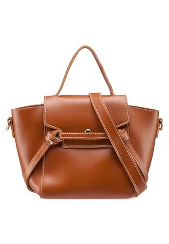 Berrybenka brown Ashina Decca Satchel Bag 53472ACBB4DCCAGS_1
