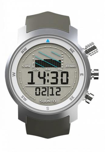 SUUNTO grey Elementum Ventus Grey Rubber SS014525000 Premium Sailing Watch SU835AC65XCOMY_1