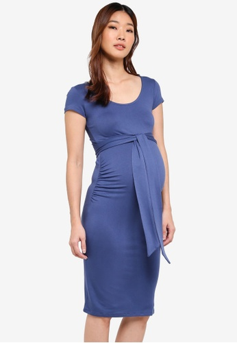 Envie De Fraise blue Maternity Blondie Dress 2A9ACAAB77A8D1GS_1