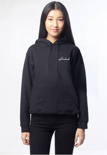 HYPE MNL black Hooked Hoodie without Zip 56FD9AA69931CCGS_1