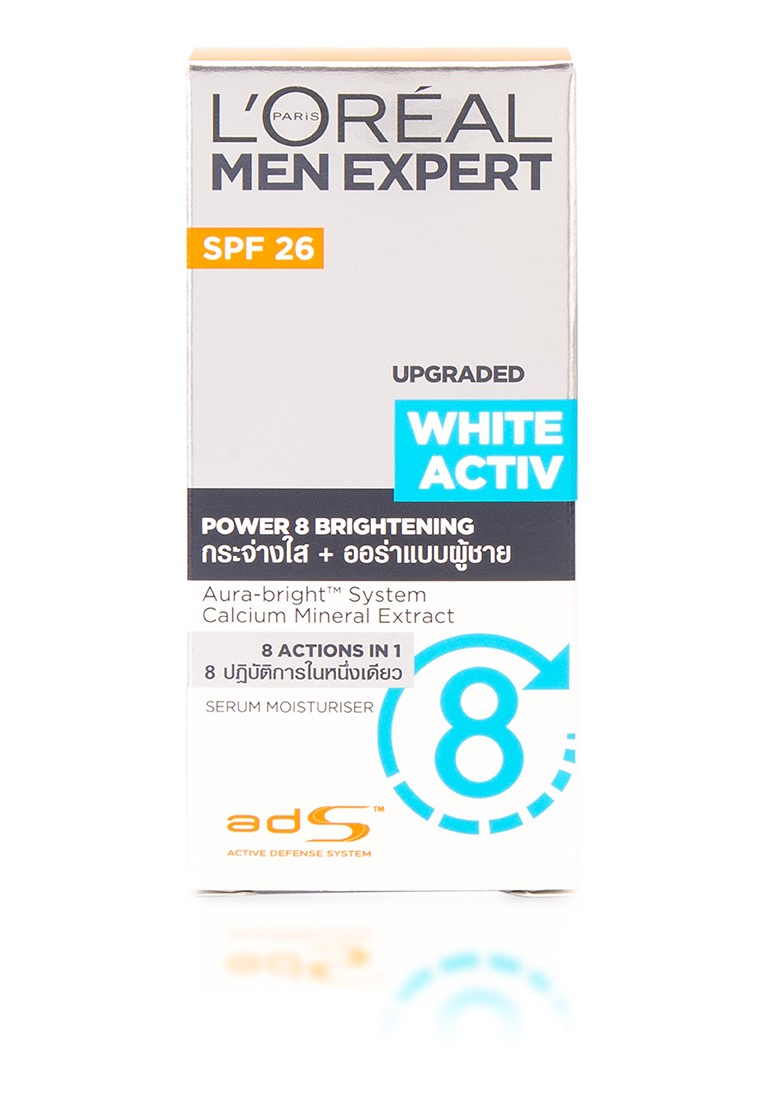 Men Expert White Active Whitening Moisturizing 50ML