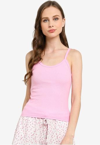 Cotton On Body pink Vintage Rib Tank Top 431B6AAC828612GS_1