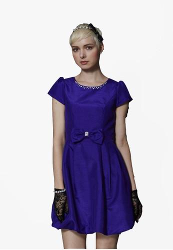 復古娃娃花苞裙洋裝,esprit衣服目錄 服飾, 短洋裝