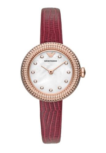 Emporio Armani red Watch AR11417 A86BFACB4D04A2GS_1