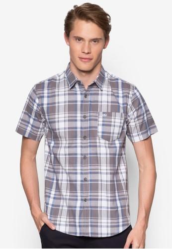 Classic Casual Shoresprit outlet 香港t Sleeves Shirt, 服飾, 印花襯衫