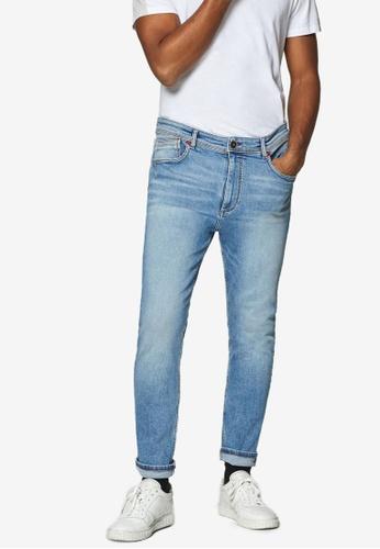 fe2c33caf1ae Buy ESPRIT Denim Length Service Pants Online on ZALORA Singapore