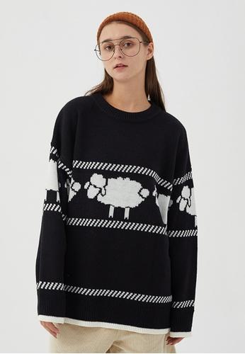 Twenty Eight Shoes Trend Sheep Cartoon Knit Sweater HH0508 CFA39AAF4A3D42GS_1