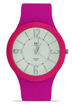 MJ Unisex Casual Analog Watch S062