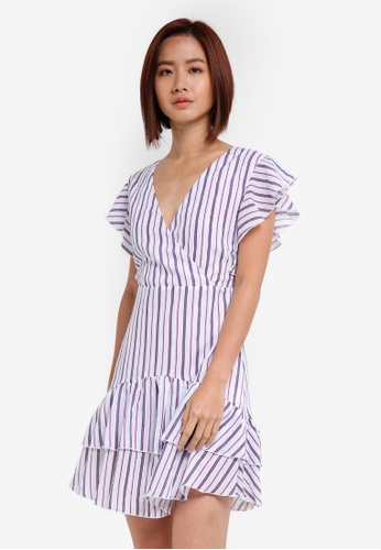 ae0471df107a Buy ZALORA Ruffle Dress Online on ZALORA Singapore