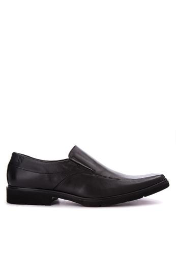 Sledgers black Jago Slip On Formal Shoes SL142SH0JWJLPH_1