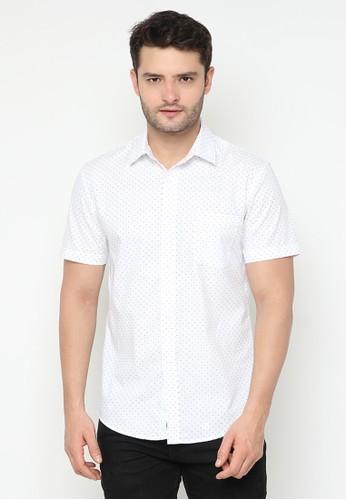 JOULDAS white Jouldas White Men Printed Shirt 8E63CAA94D8D03GS_1