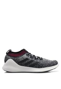 adidas black adidas performance purebounce+ sneakers 83068SH3406D41GS 1 8c440831cea