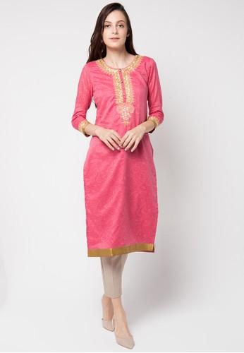 Chanira Festive Collection pink Ruhi Festive Tunic CH354AA58BIRID_1