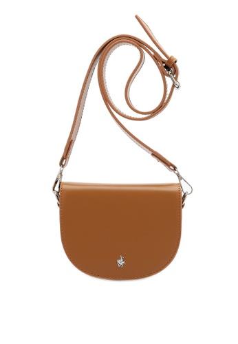 Swiss Polo brown Classic Ladies Sling Bag A3E0CACFA69F29GS_1