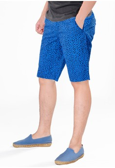 d50dc02b38 SJO & SIMPAPLY navy SPP New Maxwell Navy Print Men's Short Pants  DF9B9AA949528FGS_1
