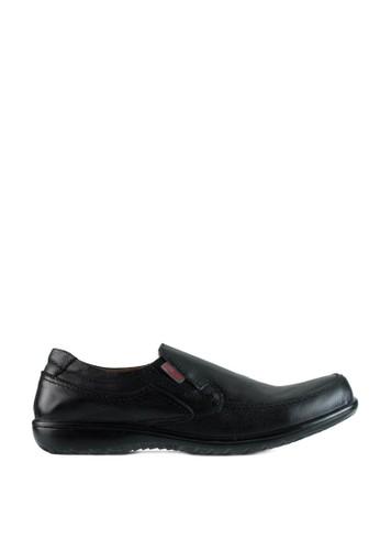 Sogno black Sepatu Slip On Pria GF.5215 71117SH5E118C0GS_1