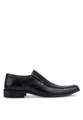 Rocklander black Slip On Formal Shoes 4978FSH92A2BC9GS_1
