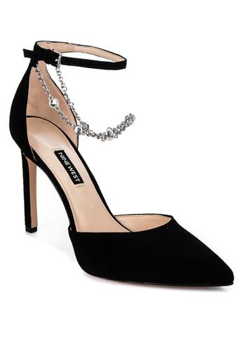 Nine West black Talula High Heeled Sandals CD7ACSHA6A97BAGS_1