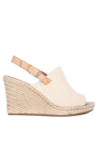 9d054dcfe2f09 Shop TOMS Monica Wedge Sandals Online on ZALORA Philippines
