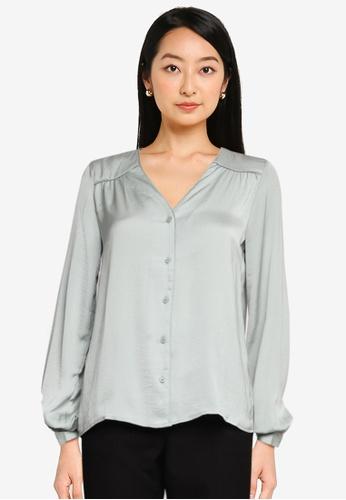 Vero Moda green Liv Shirt F6BA0AA7296524GS_1