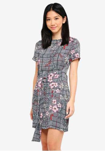 e27549a15873 Buy ZALORA Tie Front Dress Online on ZALORA Singapore
