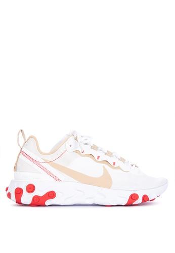 c576d4f34f45 Shop Nike Nike React Element 55 Shoes Online on ZALORA Philippines
