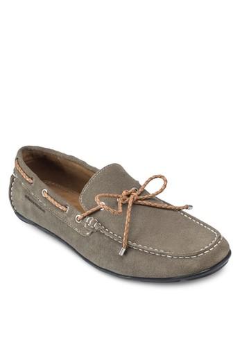 Manesprit hk storezukic 蝴蝶結布料船型鞋, 鞋, 鞋
