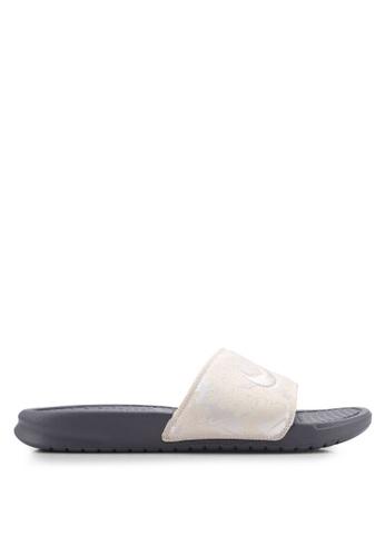 outlet store c9149 8749d Nike black Nike Benassi JDI TXT SE Slide 9B03BSH543319AGS 1