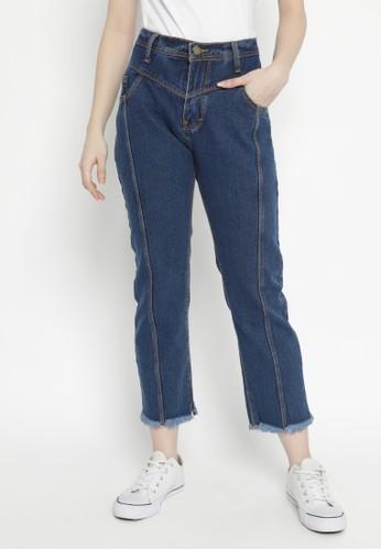 Nuber navy Exp.Jasmine Boyfriend Jeans Navy Rumbay 4E4C5AAB5178E2GS_1