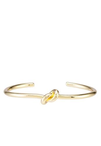 Klarf gold Jolie Knot Cuff Bangle C3444AC3A6FE12GS_1