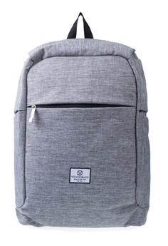harga Woodbags Anti Theft Backpack - Machine Grey Zalora.co.id