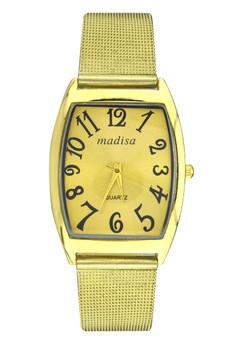 Madisa Unisex Stainless Steel Analog Wrist Watch