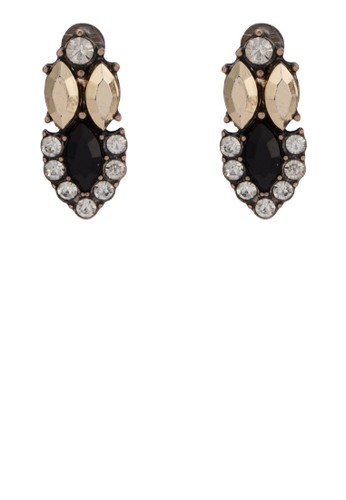 Sapphire 閃esprit outlet石造型耳環, 韓系時尚, 梳妝
