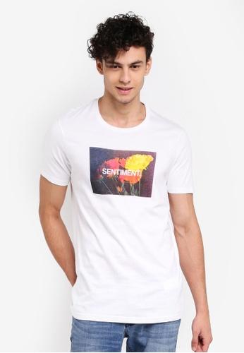 Cotton On 白色 休閒印花T恤 52723AA610AD67GS_1