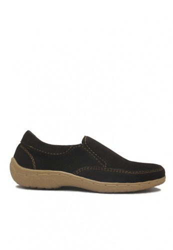D-Island brown D-Island Shoes Slip On Chukka Suede Leather Dark Brown DI594SH06URLID_1