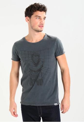 Gipsy 灰色 純棉T恤 黑暗騎士聯名款T恤- 小丑②/ Gipsy ADF44AAF627745GS_1