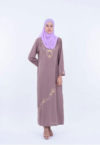 Ladies Jeans Jubah Embroidery 19EE8AA838DD9DGS_1