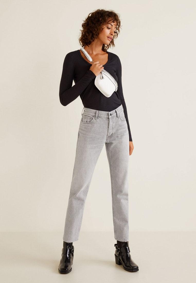Grey Mango Sayana Open Cotton Organic Straight Jeans pYx8PpR