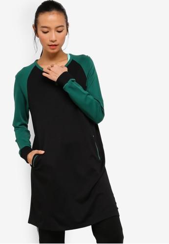 AVIVA black Long Sleeve Top 5A237AAE2E017EGS_1