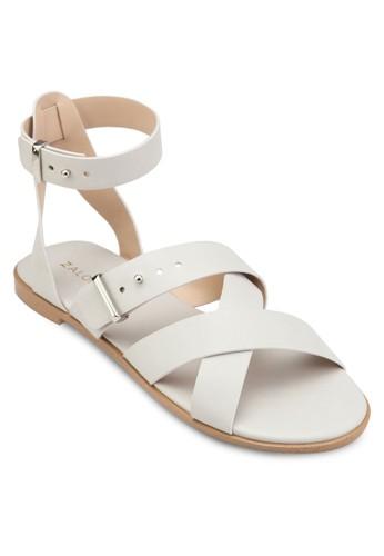 多帶平底涼鞋、 女鞋、 鞋ZALORA多帶平底涼鞋最新折價