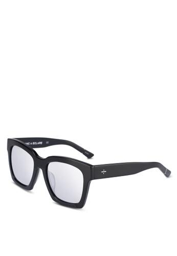BLANC & ECLARE black New York Sunglasses 4C7C8GL9F70F2AGS_1