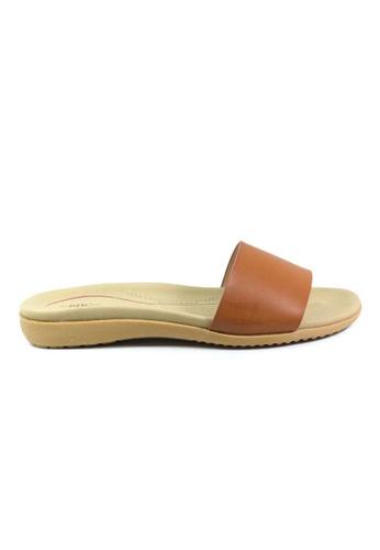 BNC brown Slide Sandals 51968SH3FC777DGS_1