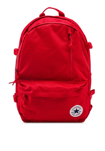 Converse red Converse All Star Straight Edge Backpack F1C2EACCCEEA48GS_1
