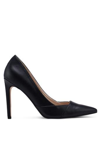 ZALORA 黑色 經典高跟鞋 2CF29SH2D0C1B6GS_1