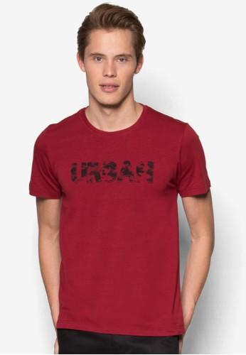 文字印花設計TEesprit分店地址E, 服飾, T恤