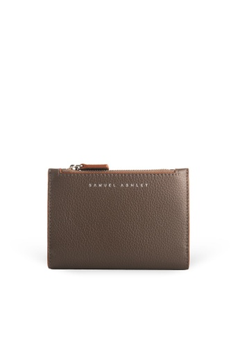 Samuel Ashley brown Mavis Bi-fold Wallet  - Mocha 750D7AC5DF2A89GS_1