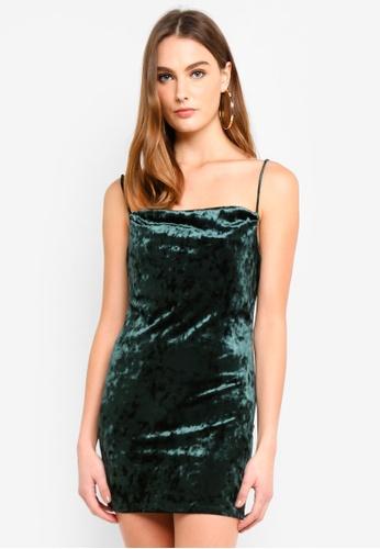 251f4faccabc6 Buy TOPSHOP Cowl Velvet Slip Dress