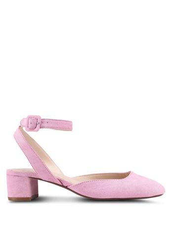 Mango pink Ankle-Cuff Slingback Shoes 3BDA6SH1FE5F7EGS_1